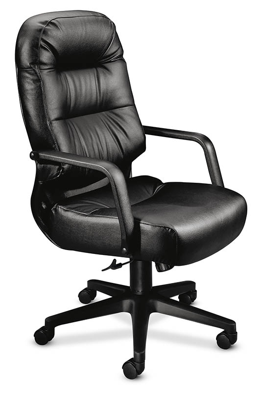 Gentil HON Pillow Soft High Back Leather Chair