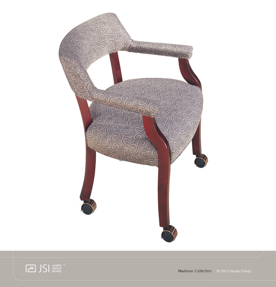 Lovely JSI MADISON Captains Chair, CASTERS