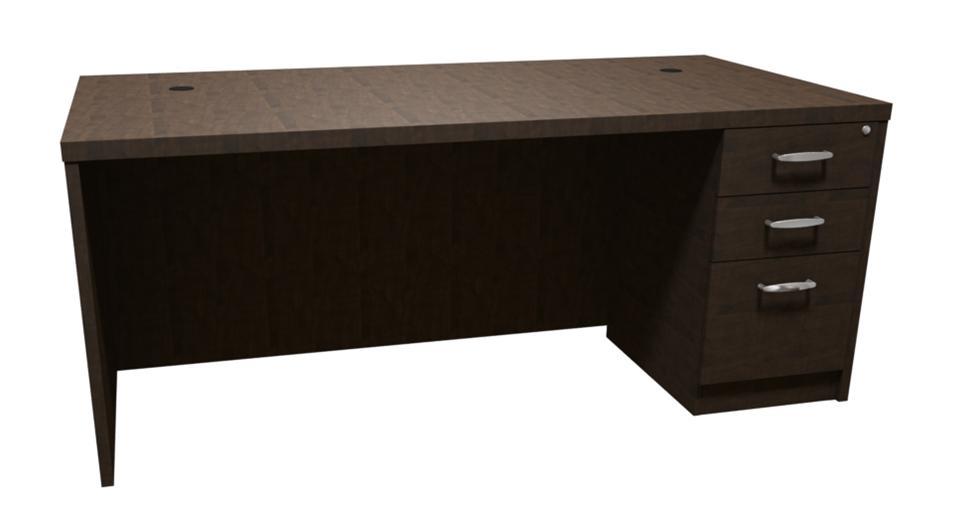 Trendway Executive Intrinsic 30d X 72w Pedestal Desk