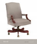 JSI Belle Mid-Back Executive Chair, Open Arm