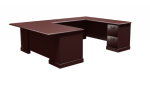 "Cambria Laminate Executive ""U"" Unit, Right Hand"