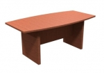 Boat Shaped Laminate Conference Table 3' x 6'