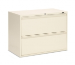 "Global 1900P Series-2 Drawer lateral file 36""w Black"