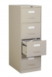 "Global 2500 Series-4 Drawer Vertical File Legal Size - 25""D"
