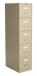 "Global 2500 Series-5 drawer Vertical File Letter Size 28""D"