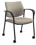 Global Sidero Guest Chair with Casters