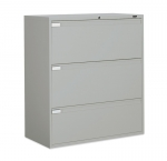 "9300P Series - Lateral File, Fixed Drawers-3 Drawer - 42""W"