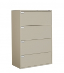 "9300P Series - Lateral File, Fixed Drawers-4 Drawer - 42""W"