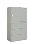 "9300P Series - Lateral File, Fixed Drawers-5 Drawer - 42""W"