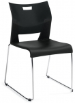 Global Duet-Sledbase side chair