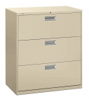 Brigade 600 Series Lateral File 36W 3-Drawer