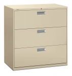 Brigade 600 Series Lateral File 42W 3-Drawer