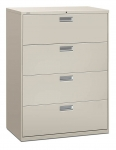 Brigade 600 Series Lateral File 42W 4-Drawer