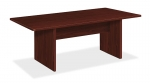 Basyx 72x36 Rect Laminate Conference Table w/Slab Base