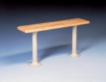 Tennsco Laminate Hard Maple Benches & Pedestals