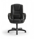 BASYX Highback Conference Chair w/ Fixed Loop Arms