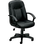 BASYX Managerial High-back PneuTilt Chair