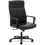 Basyx High Back Executive Leather Chair