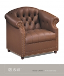 JSI HEROINE Club Chair, TUFT BACK/SEAT