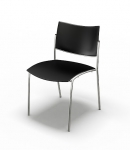 Mayline Stack Chair 4/BOX