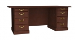 Cambria Laminate 72x36 Double Pedestal Desk