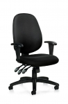 OTG Multi-Function Task Chair w/ Height Adj. Arms