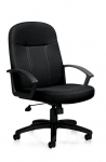 OTG Management Tilter Chair with Fixed Arms
