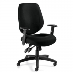 OTG Multi-Function, Mid-Back Chair w/ Adjustable Arms