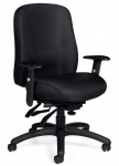 OTG Multi-Function Medium Back Chair with Adjustable Arms.