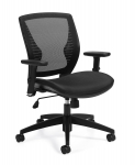 OFFICES TO GO-Mid Back Mesh  Task Chair