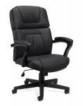 OFFICES TO GO-Leather (Luxhide*) Seating-High back tilter