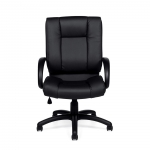 OTG Leather (Luxhide*) Executive Chair with Arms.