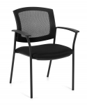 OFFICES TO GO-Mesh Back Guest Chair