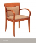 JSI KENDALL Wood Side Chair, UPh Seat /Back
