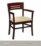 JSI REVUE wood Side Chair, Uph Seat