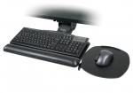 Articulating Keyboard Arm with Switch-n-Click Platform