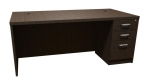 Trendway Executive Intrinsic 36D x 72W Pedestal Desk