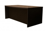 Trendway Executive Intrinsic Bow Front Desk, 36D X 66W