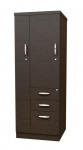 Trendway Executive Intrinsic Storage Tower with BBF Drawers & Wardrobe