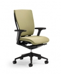 Trendway T51 Upholstered Task Chair with Adjustable Arms