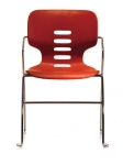 Trendway M11 Armless Stack Chair, Chrome