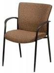 Trendway Live 2 Stacking Guest Chair with Arms