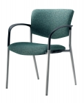 Trendway Live Guest Stacking Chair with Arms