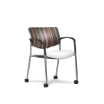 Trendway Live Stack Chair w/ Arms & Casters