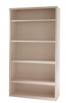 PACK Metal Bookcase 5-High, 42W