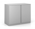 "PACK Metal Double Door Storage Cabinet 2-High, 36""W"