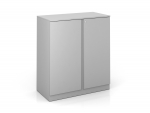 "PACK Metal Double Door Storage Cabinet 3-High, 36""W"
