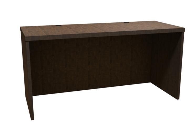 Trendway Executive Intrinsic 24d X 66w Desk Shell Studio