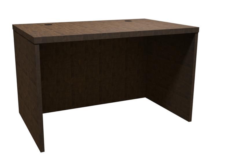Trendway Executive Intrinsic 30D X 48W Desk Shell Studio