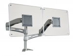 Dual Elite Flat Screen Monitor Arm. Effortless Adjustment